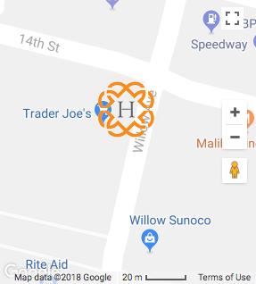 harlow map